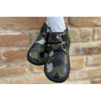 Chaussure enfant barefoot - Army - Be Lenka  - 5