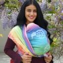 Echarpe Didymos - Rainbow Peacock -100% coton