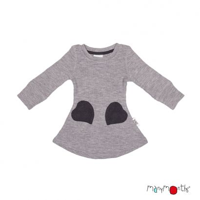 Robe poches coeur - Manymonths Babyidea Oy - 3