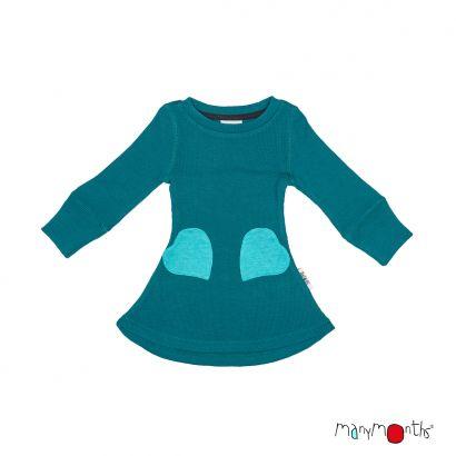Robe poches coeur - Manymonths Babyidea Oy - 4