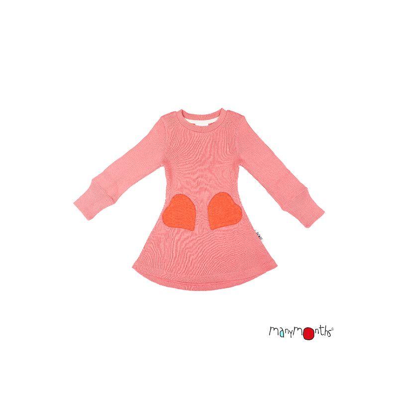 Robe poches coeur - Manymonths Babyidea Oy - 5