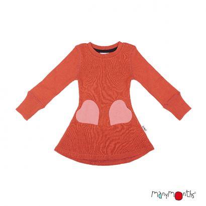 Robe poches coeur - Manymonths Babyidea Oy - 6