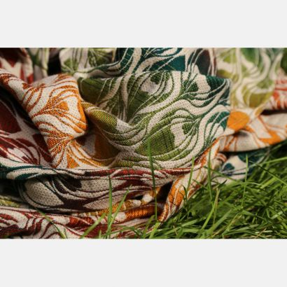 Echarpe Yaro - La Fleur Trinity Maple Rainbow High Wool - 30% Coton/70% Laine Yaro - 7