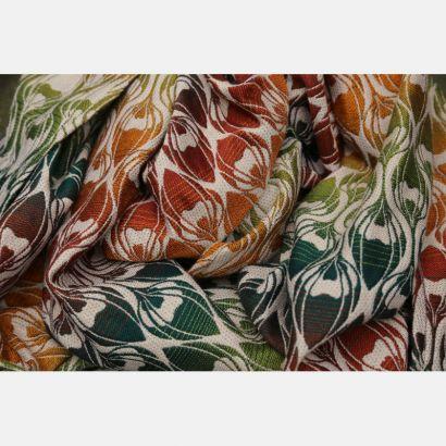 Sling Yaro - La Fleur Trinity Maple Rainbow High Wool - 30% Coton/70% Laine mérinos Yaro - 1
