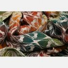 Scarf Yaro - La Fleur Trinity Maple Rainbow High Wool - 30% Coton/70% Laine mérinos Yaro - 1