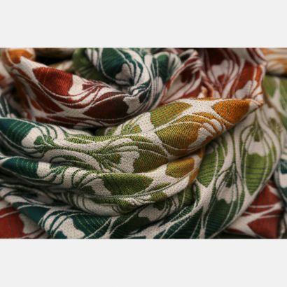 Scarf Yaro - La Fleur Trinity Maple Rainbow High Wool - 30% Coton/70% Laine mérinos Yaro - 2