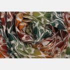 Scarf Yaro - La Fleur Trinity Maple Rainbow High Wool - 30% Coton/70% Laine mérinos Yaro - 3