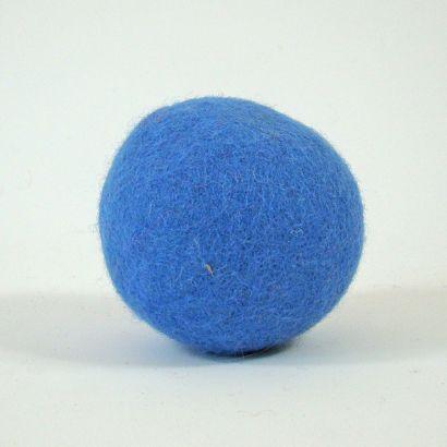 8 balles arc-en-ciel en feutre de laine - 7cm - Papoose Toys  - 4