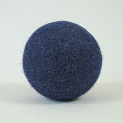 8 balles arc-en-ciel en feutre de laine - 7cm - Papoose Toys  - 6