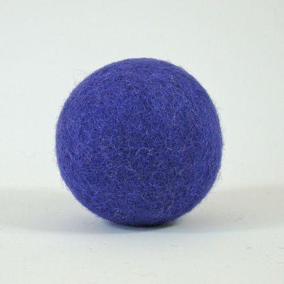 8 balles arc-en-ciel en feutre de laine - 7cm - Papoose Toys  - 9