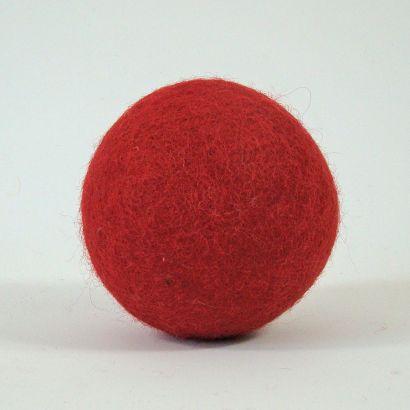 8 balles arc-en-ciel en feutre de laine - 7cm - Papoose Toys  - 10