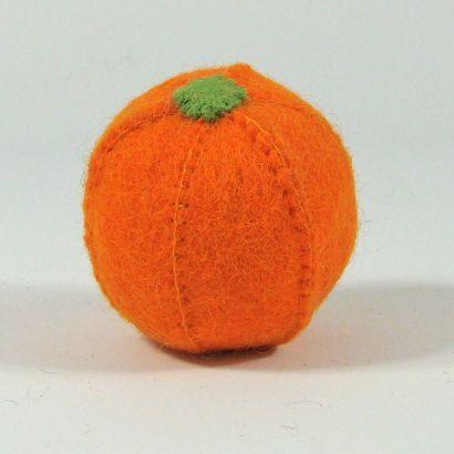 Lot de fruits en laine feutrée - Pomme, poire et orange - Papoose Toys  - 3