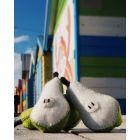 Fruits en laine feutrée - 3 poires - Papoose Toys  - 2