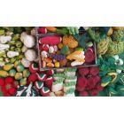 Légumes en laine feutrée - 3 tomates - Papoose Toys  - 2