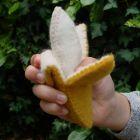 Fruits en laine feutrée - 2 bananes - Papoose Toys  - 7