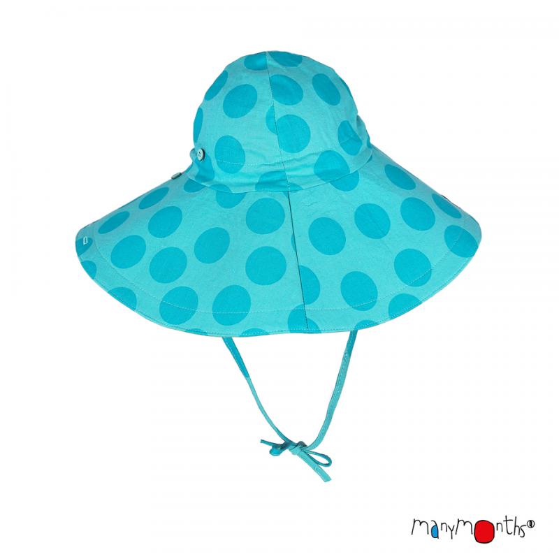 Chapeau à large bord - Manymonths - Coton/chanvre Babyidea Oy - 6