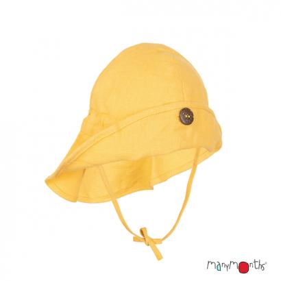 Chapeau ajustable Light - Coton/Chanvre - Manymonths Babyidea Oy - 1