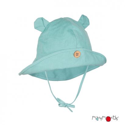 Chapeau avec oreilles d'ourson - Coton/Chanvre - Manymonths Babyidea Oy - 5