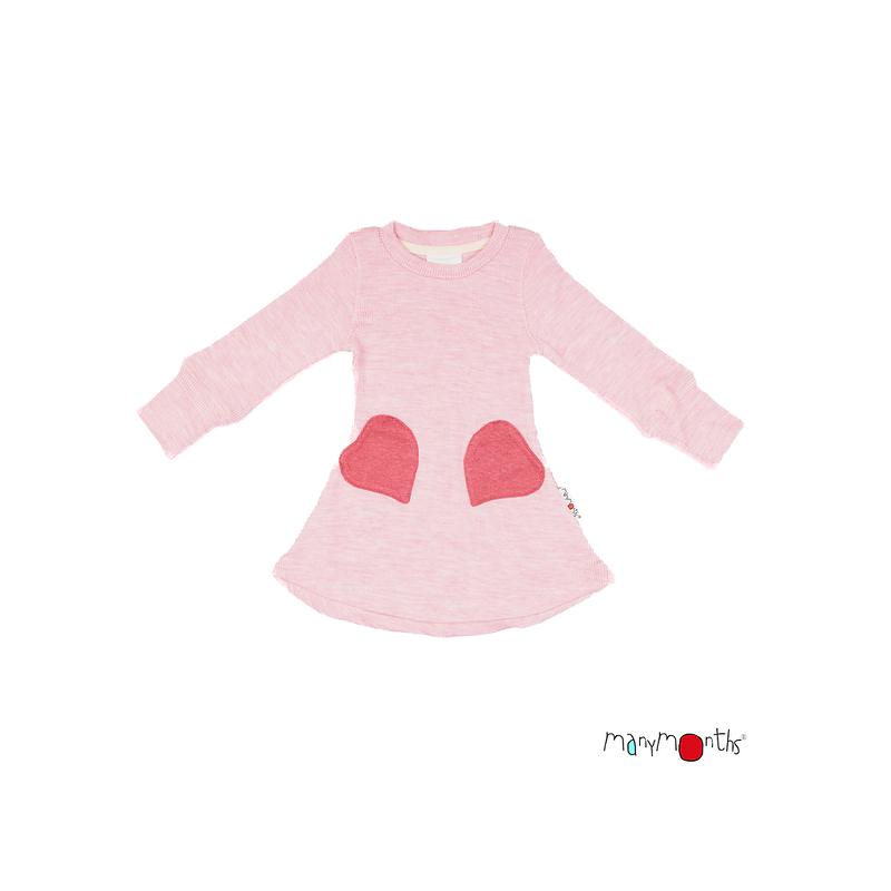 * Préco 2021 * Robe poches cœur - Manymonths Babyidea Oy - 4