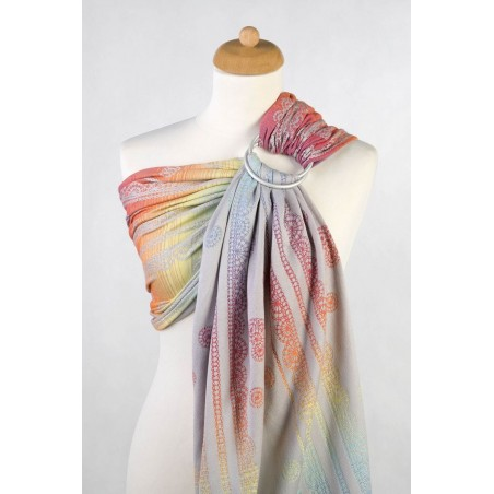 Sling Lennylamb Jacquard - Rainbow Lace Silver - 100% coton