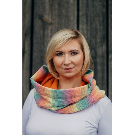 Snood Lennylamb - Little Herringbone Imagination & Jasper - Coton