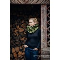 Snood Lennylamb - Green Camo & Black - Coton et polaire