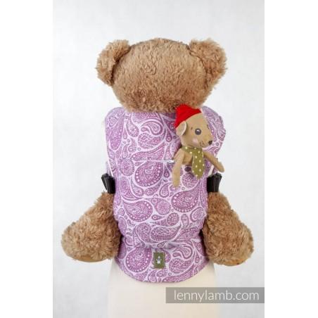 Porte poupon - Paisley Purple & Cream - Lennylamb