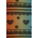 Snood Lennylamb - Rainbow Lace Dark & Black - Coton