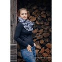 Snood Lennylamb - Grey Camo & Black - Coton et polaire