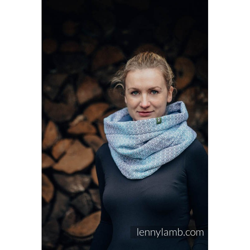 Snood Lennylamb - Little Love Breeze & Blue - Coton et polaire