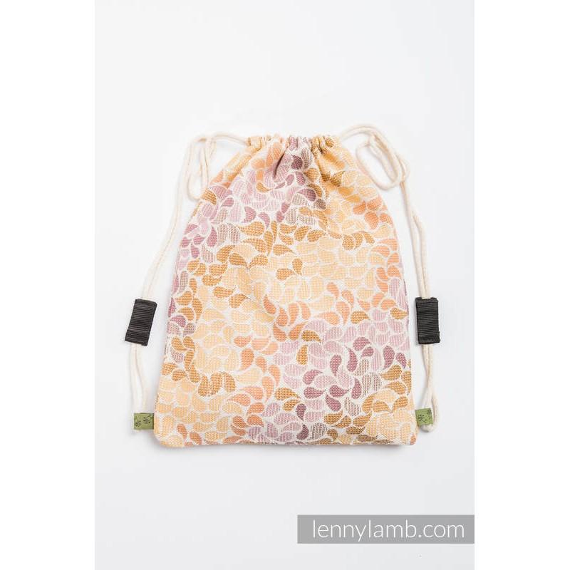Sac en tissu d'écharpe Lennylamb - Colors of Fall - 100% coton - 35cm x 45cm