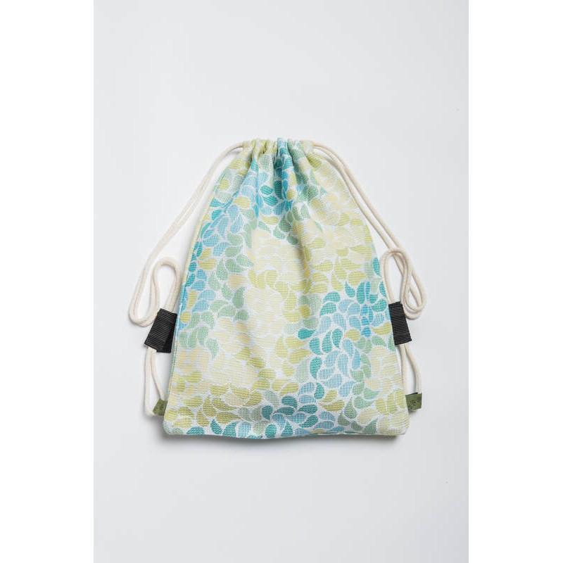Sac en tissu d'écharpe Lennylamb - Lemonade - 100% coton - 35cm x 45cm