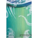 Onbuhimo Lennylamb - taille standard - Dragon Green & Blue