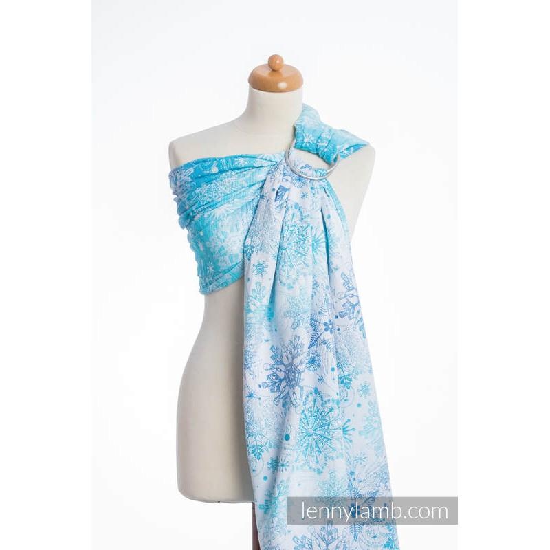Sling Lennylamb Jacquard - Snow Queen - 100% coton (Grade B)