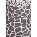 Wraptai - Taille Mini - Giraffe Dark Brown & Creme