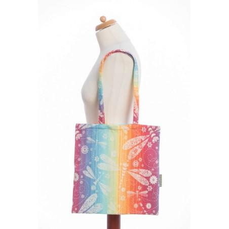 Sac Shopping Lennylamb - Dragonfly Rainbow - 33cmx39cm