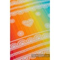 Carré de mousseline bébé - Rainbow Lace - Lennylamb
