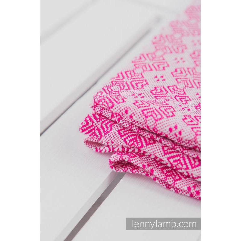 Couverture - Rose - Lennylamb (60% coton - 40% laine mérinos)