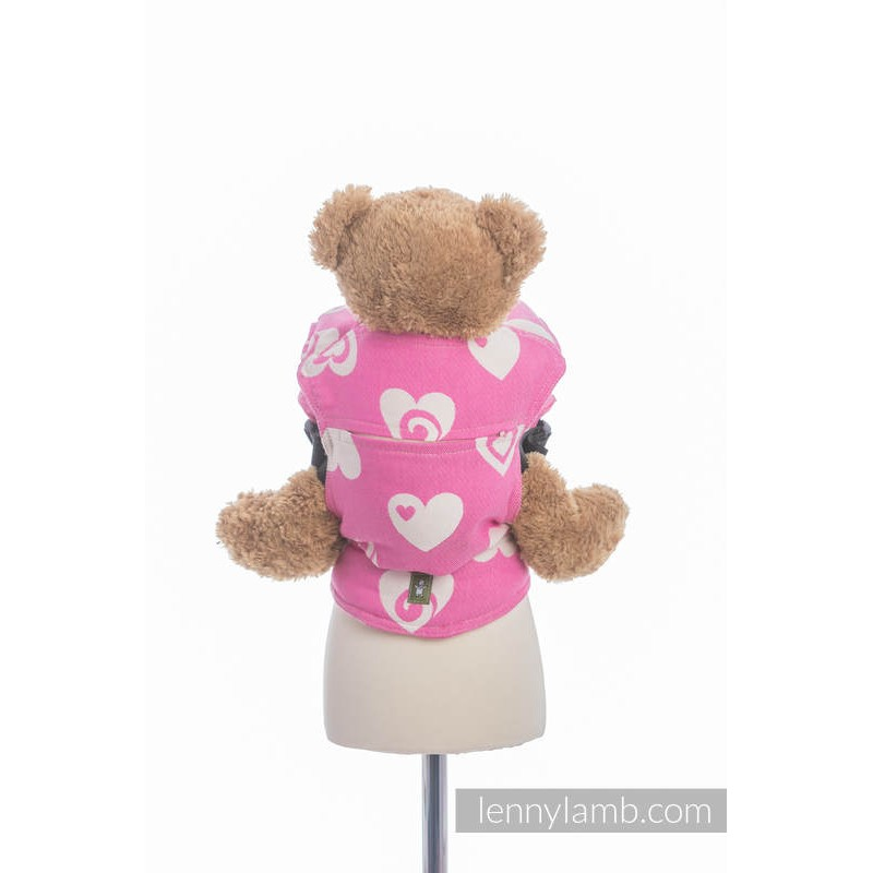 Porte poupon - Sweethearts Pink & Creme 2.0 - Lennylamb