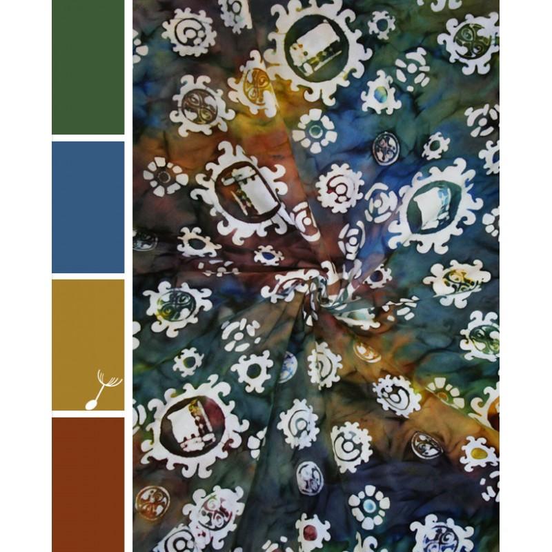 Foulard Furoshiki - Chronos - Wrapsody - 61cm