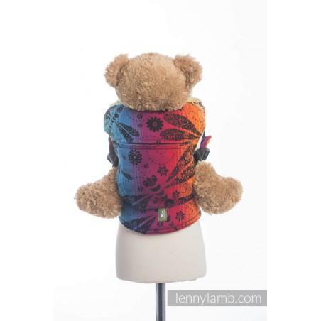 Porte poupon - Dragonfly Rainbow Dark - Lennylamb