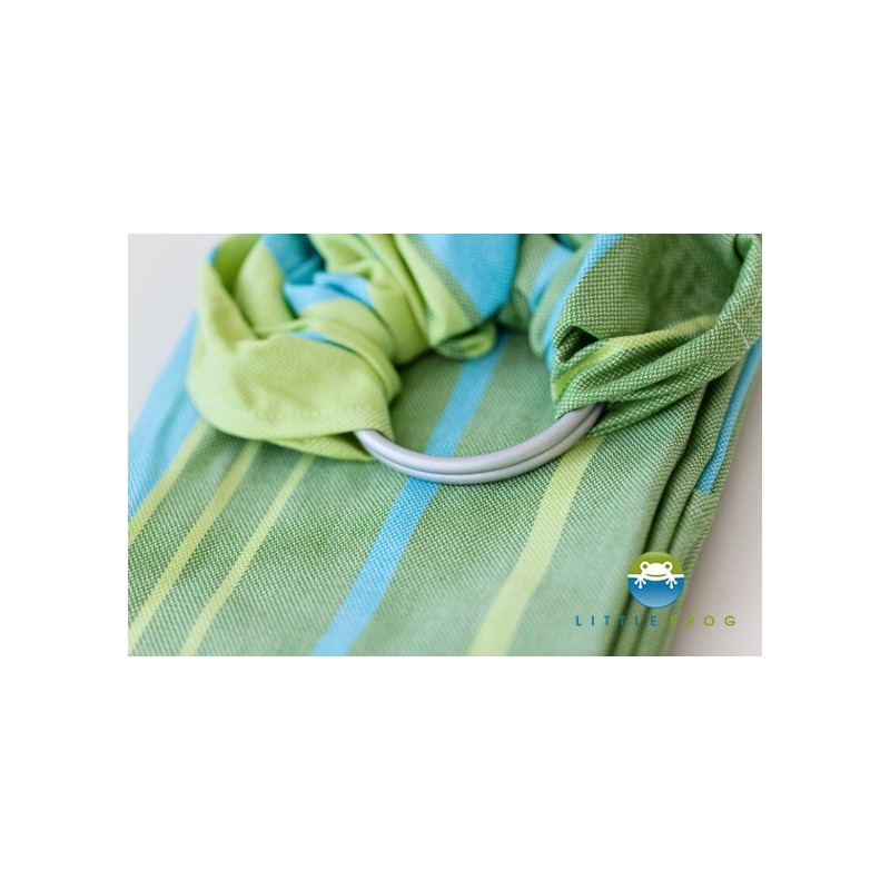 Sling Little Frog Bamboo Turquoise M (2 m)