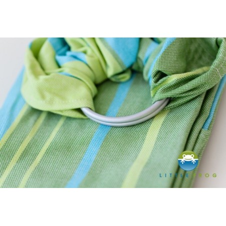 Sling Little Frog Bambou Turquoise M (2 m)