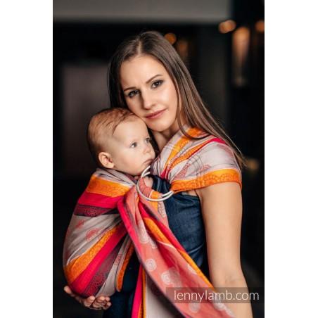 Sling Lennylamb Jacquard - Rainbow Lace Dark - 100% coton