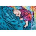 Carré de mousseline bébé - Rainbow Lace Dark - Lennylamb - Grade B