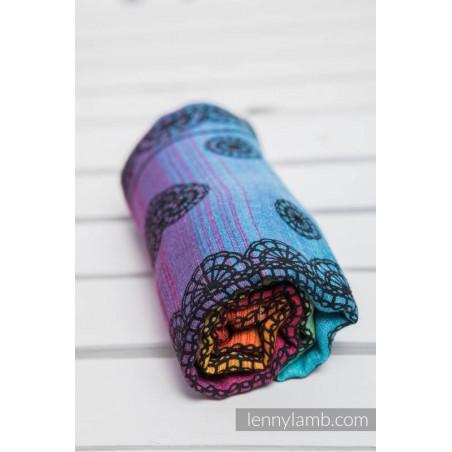 Carré de mousseline bébé - Rainbow Lace Dark - Lennylamb