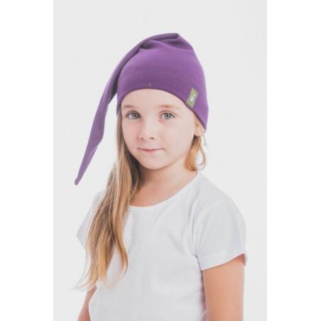 Bonnet de lutin en coton - Coloris Sugilit - Lennylamb