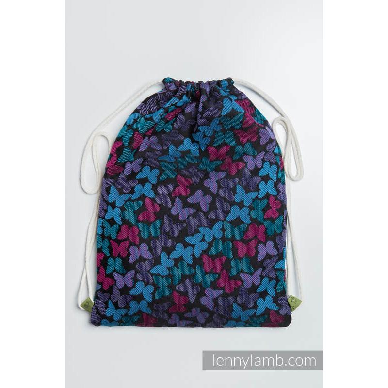 Sac en tissu d'écharpe Lennylamb - Butterfly wings at night - 100% coton - 35cm x 45cm