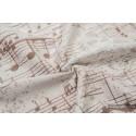 Echarpe Lennylamb - Symphony Creme & Brown (100% coton)