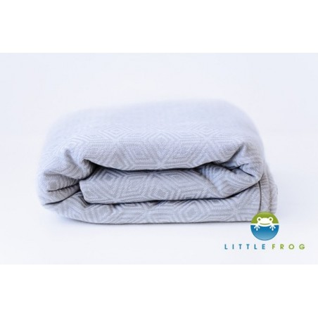 Echarpe Little Frog - Grey Cube - Coton